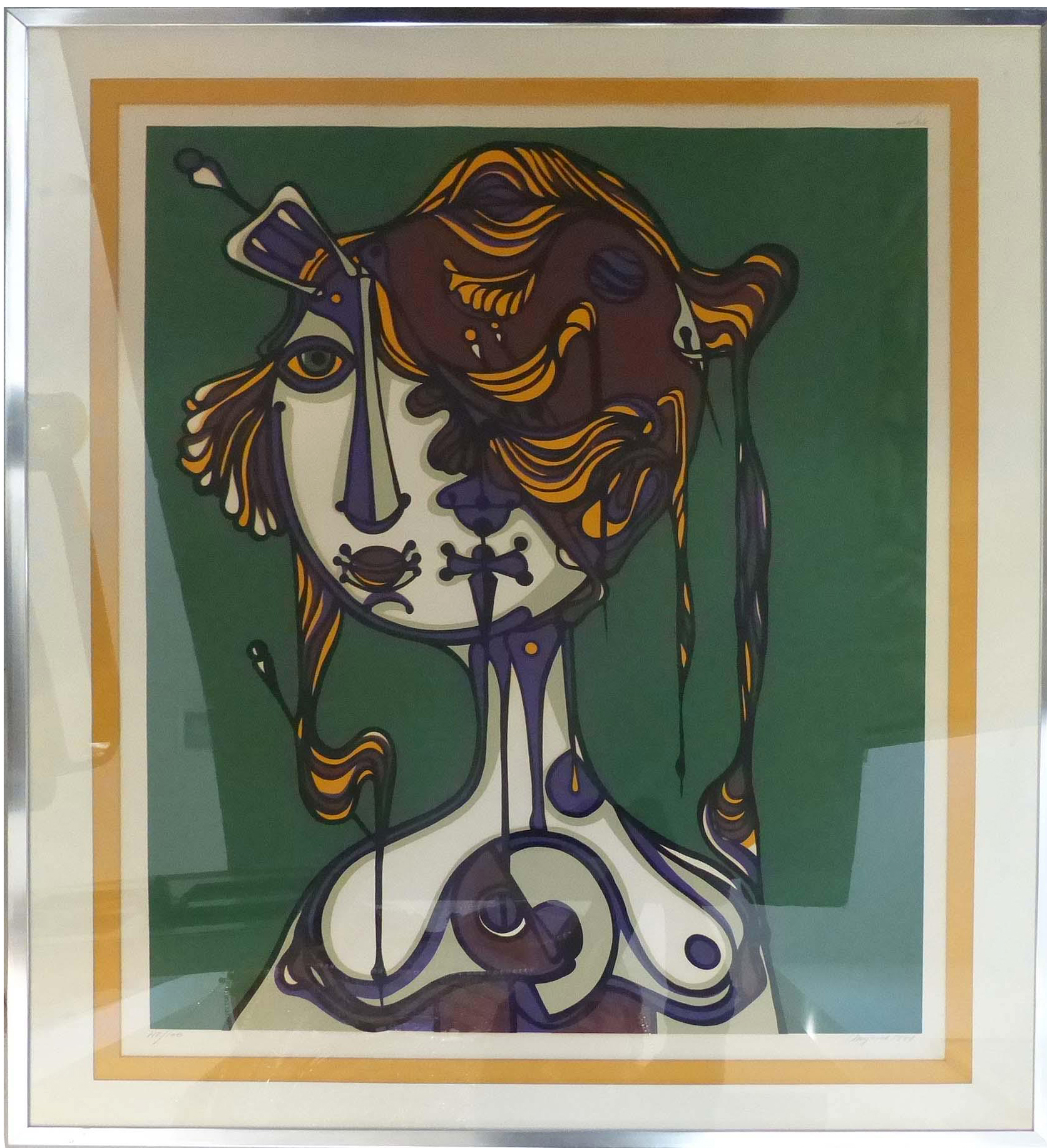 Abstract Lithograph By Jose Maria Mijares Worthgalleries Com # Muebles Jose Maria