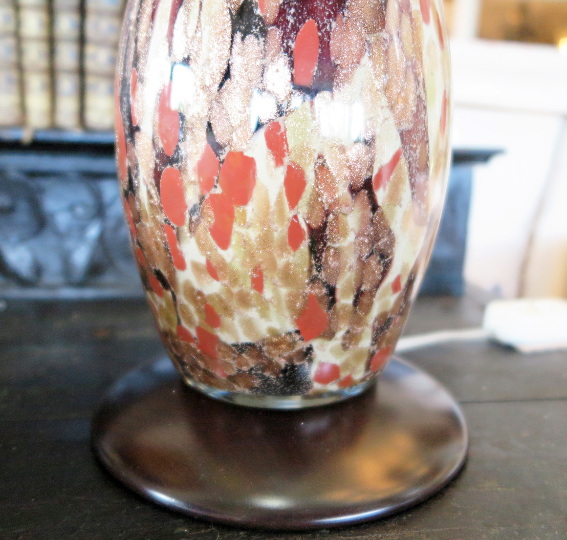 Modern Hand Painted Table Lamp