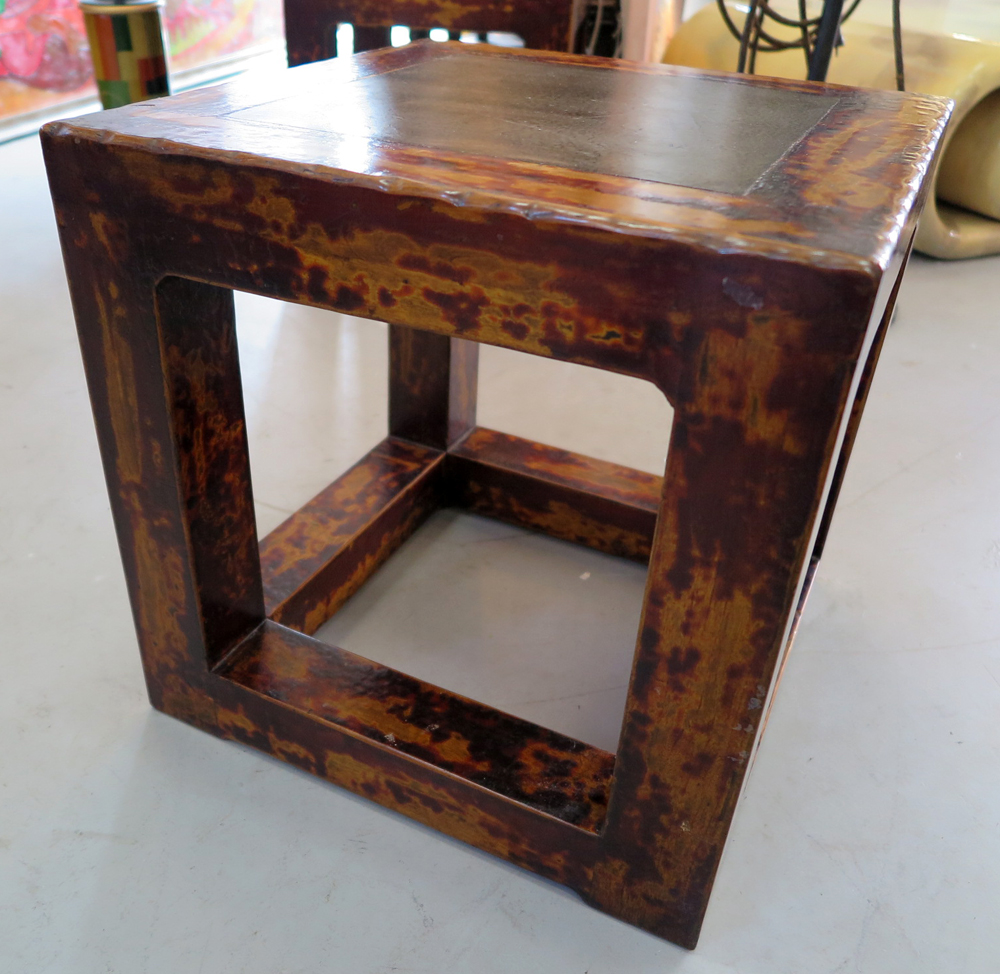 Pair Of Solid Wood End Tables Worthgalleries Com