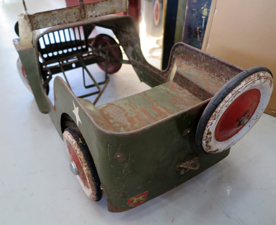 1953 Tri Ang Military Willys Jeep Pedal