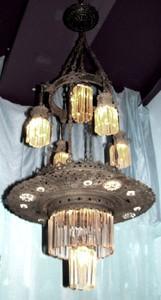 Antique Art Nouveau Chandelier