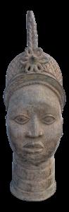 Bronze Head of an Ife Queen Mother