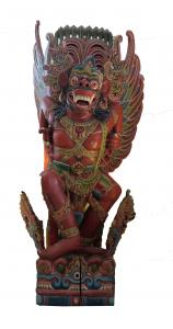 Amazing Huge Carved Wooden Garuda