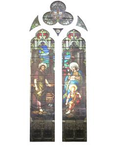 Emil Frei Religious Stained Glass Vitral  from St Louis Church