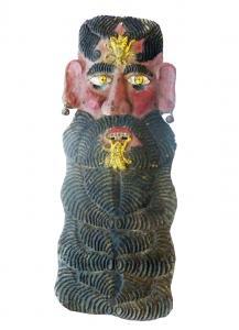 impressive metal mask