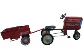 Murray Toy Pedal Tractor with  Dump Trac Trailer