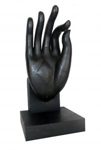 Hand Sculpture Vitarka Mudra Gesture