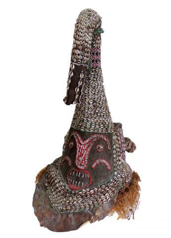 Antique African Congo Mask Kuba Tribe