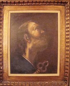 Antique Oil Painting of one of Jesus