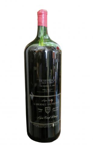 30 inches Collectible Napa Wine Bottle