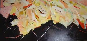 Graphic Comtemporary Abstract Painting