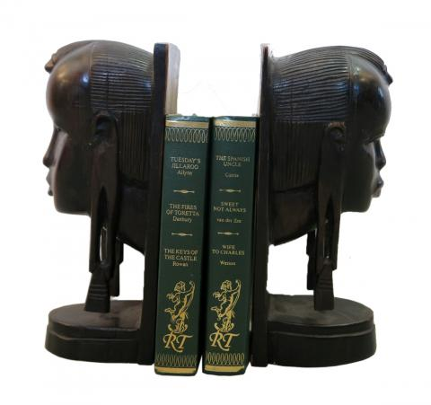 Women Head BookEnds