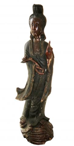 statue of Guanyin, also known as Kwan yin or Quan yin