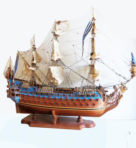 Classic marine Ship Model of San Felipe 1690 by Mauritius