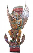 Huge Carved Wooden Garuda