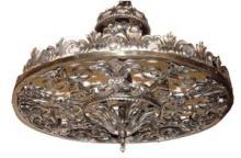 Nickel Bronze Art Deco