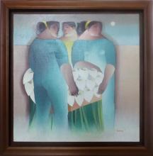 Peruvian Painting by Carlos Palma Tapias