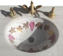 Swan Faucets and Marble Sink
