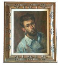 Thomas J Strickland Impressionist Oil Painting/Portrait