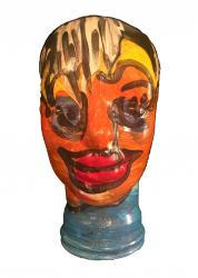 Peter Keil glass head painting art