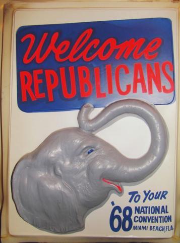 Miami Beach Republican Convention Poster
