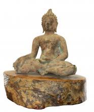Late Ming 17th Century Bronze Buddha