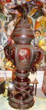 Huge Asian Bronze Incense Burner