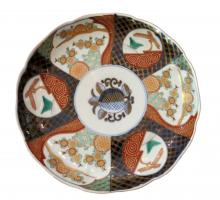 Early 20th Century Hand-Painted Chinese Imari Charger Plate